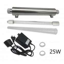 Sterylizator filtr wody lampa UV 25W PHILIPS